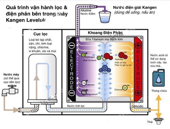 Tìm hiểu chất lượng máy lọc nước Kangen và quy trình sản xuất - MÁY LỌC  NƯỚC KANGEN ĐẾN TỪ ENAGIC NHẬT BẢN